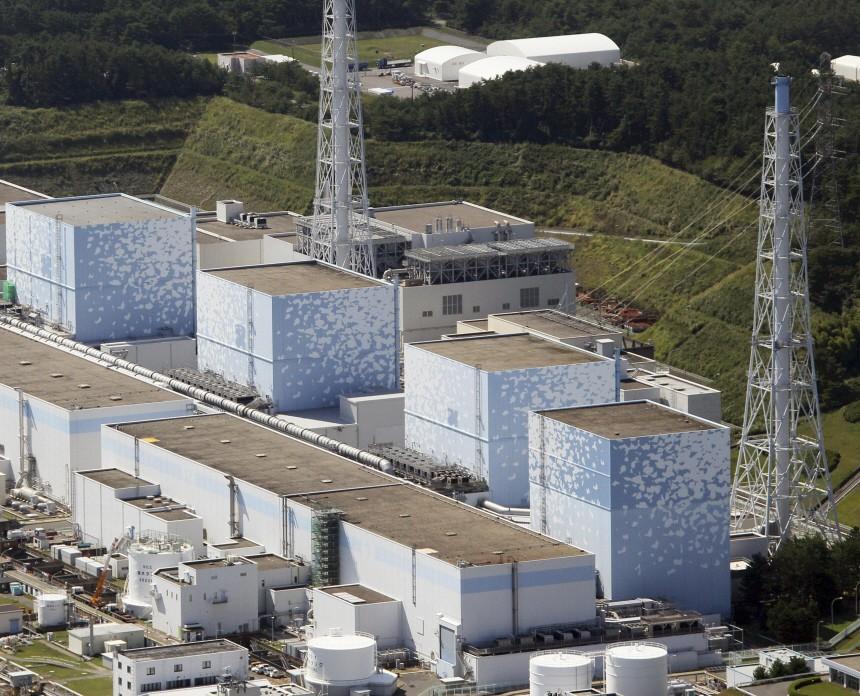 File photo of reactors in Fukushima Prefecture