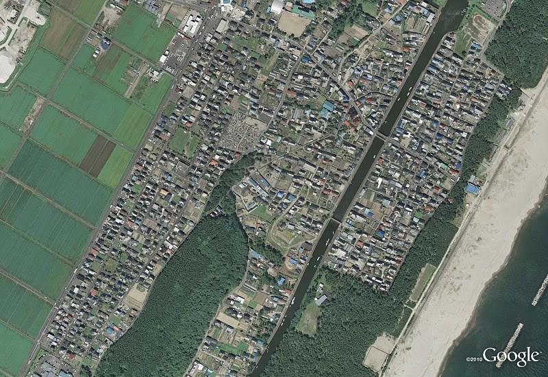 Japan Erdbeben Arahama