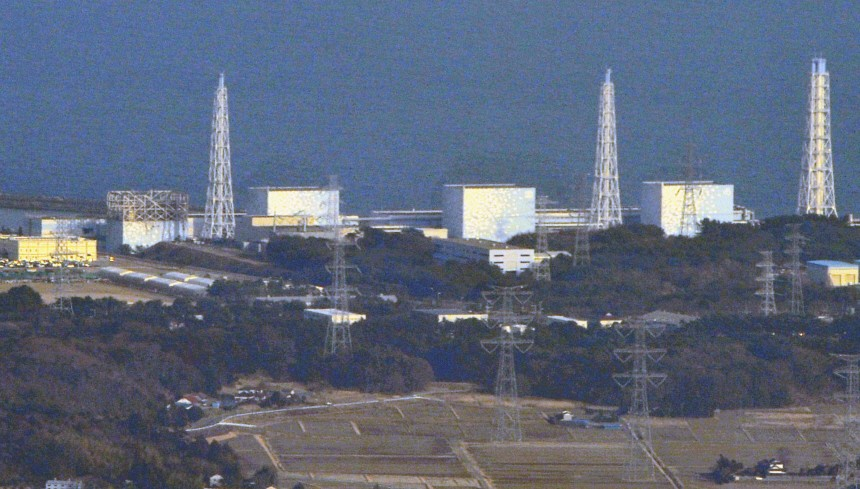 Tokyo Electric Power Co.'s Fukushima Nuclear Plant reactor No. 1 and reactor No. 3 are pictured in northern Japan