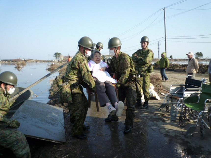 Japanese Earthquake Tsunami aftermath