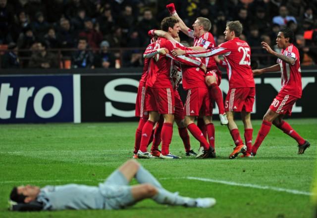 Champions League FC Bayern München - Inter Mailand