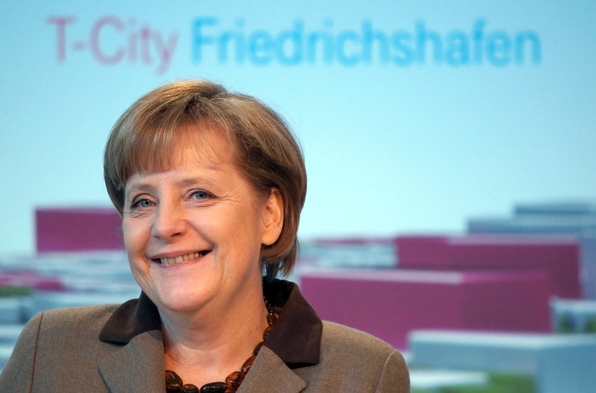 Merkel Visits T-City Project