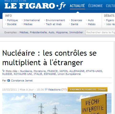 Presseschau Figaro