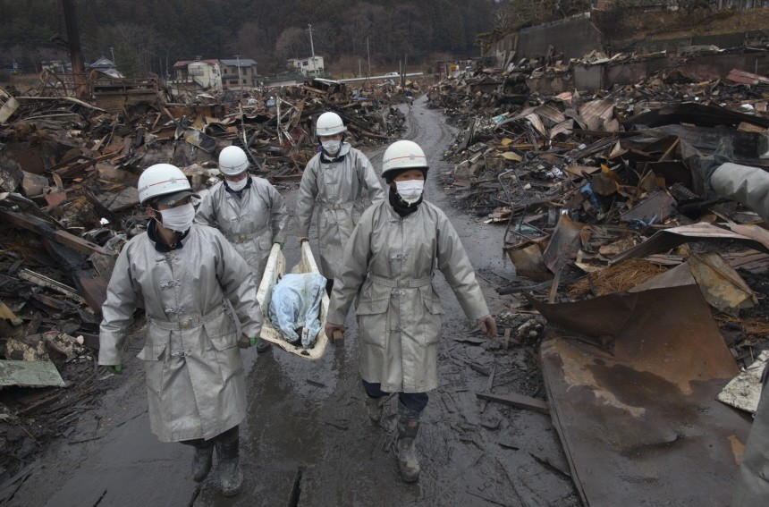Rescue Work Continues In Japan As Nuclear Threat Looms