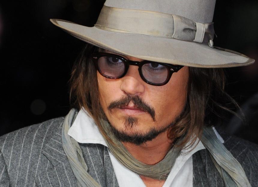 Johnny Depp zum  Hutträger des Jahres gewählt