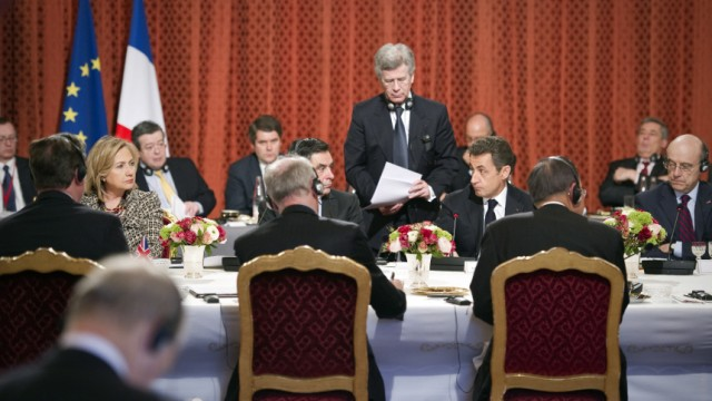 Paris Summit on Libya
