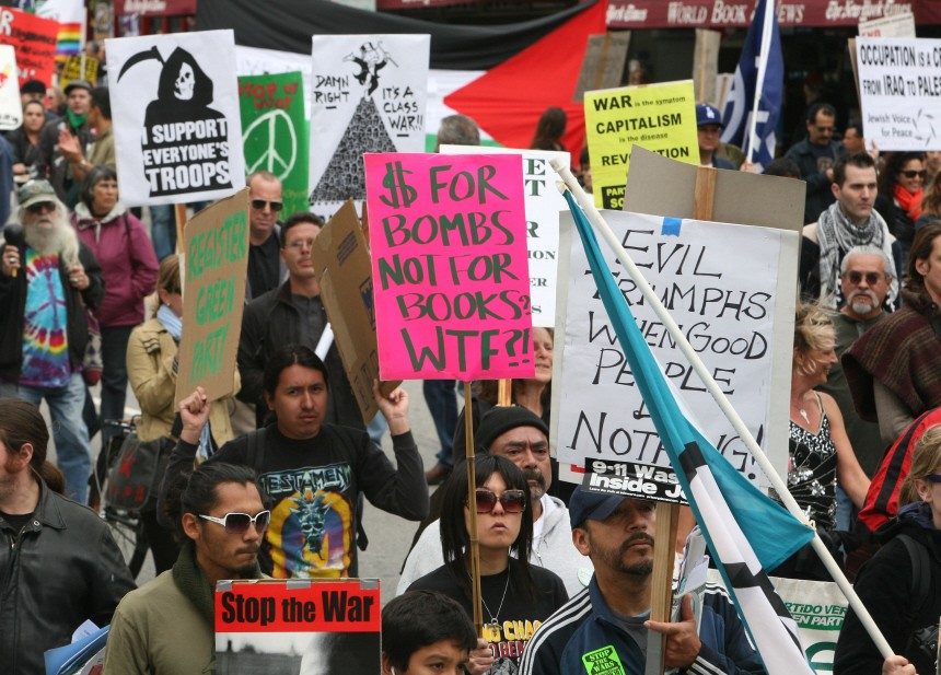 Anti-War Rally Held In LA