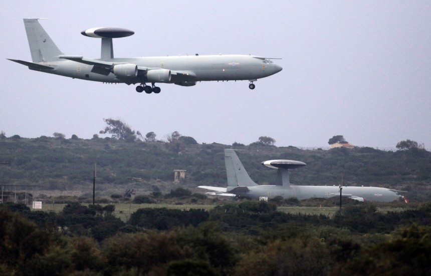 British Air Base Prepares To Enforce The UN Sanctioned No Fly Zone