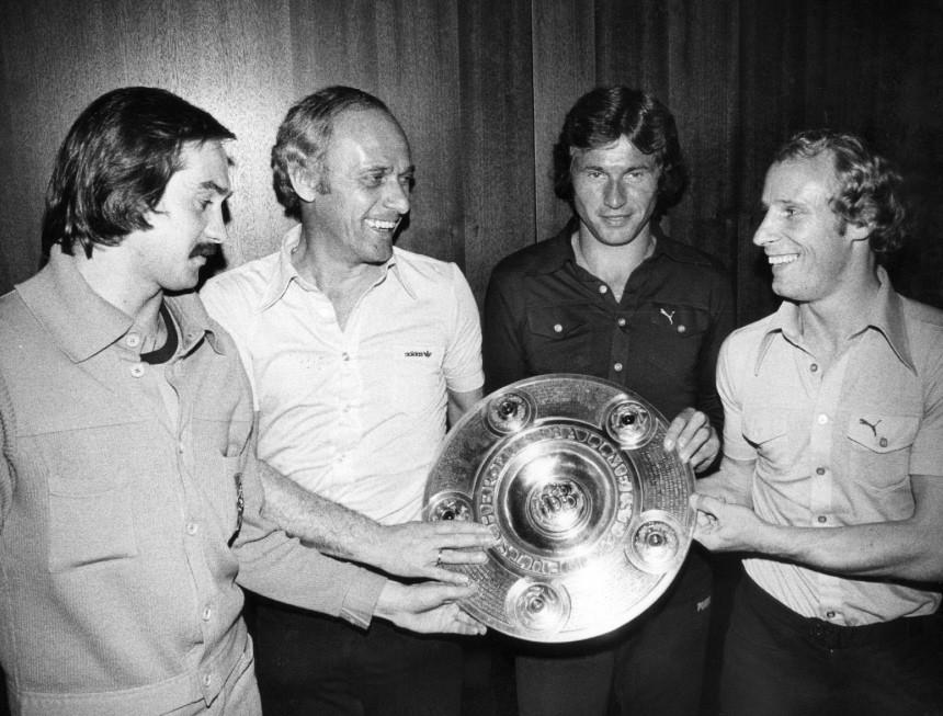 Borussia Mönchengladbach Deutscher Fußballmeister 1977