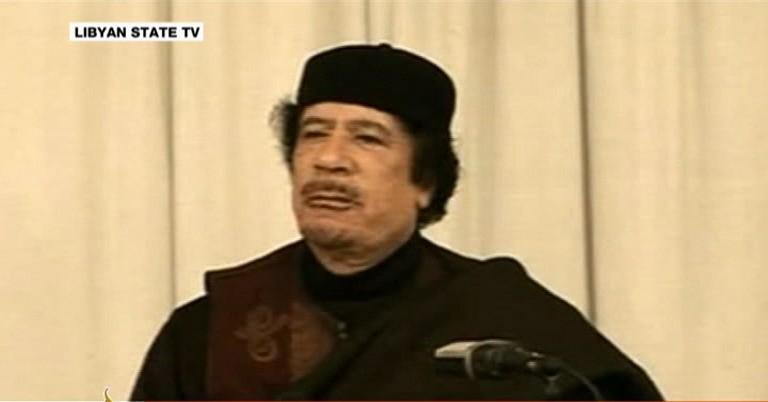 Gaddafi beschimpft Rebellen und westliche Staaten