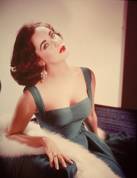 Portrait Of Elizabeth Taylor