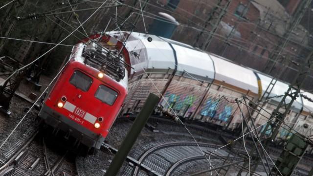 Lockführerstreik - Güterbahnhof Maschen
