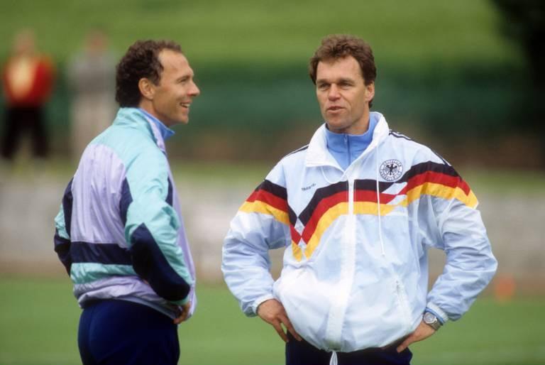 Holger Osieck Franz Beckenbauer 1990