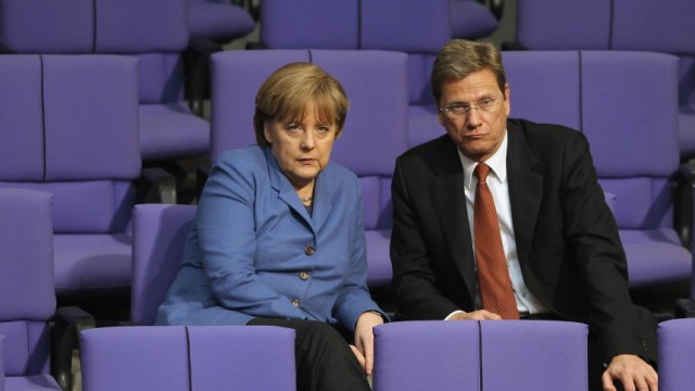 Merkel Westerwelle