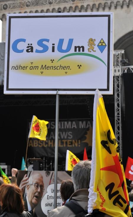 Anti-Atom-Demonstration - München