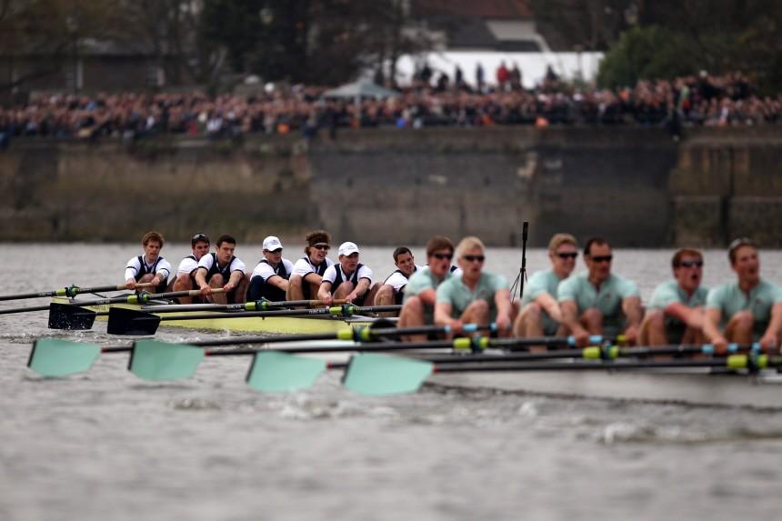 Xchanging Oxford v Cambridge Boat Race 2011