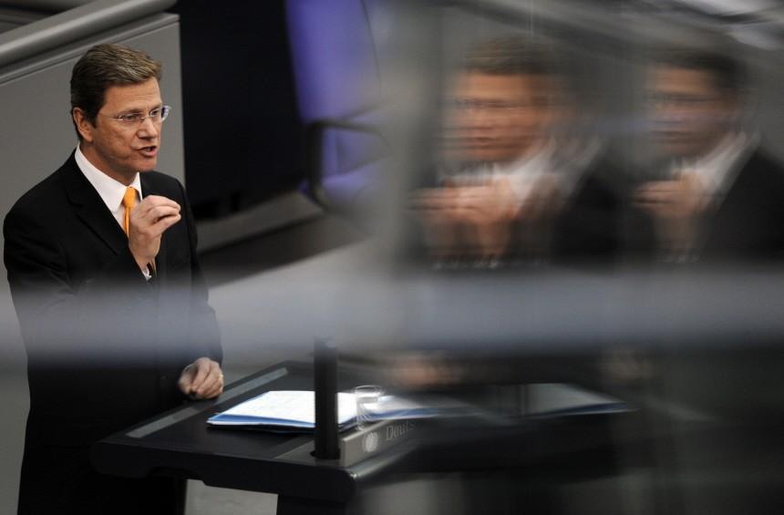 Bundestag - Rede Westerwelle