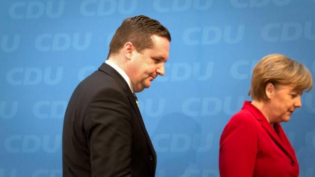 CDU PK nach Bundesvorstandssitzung