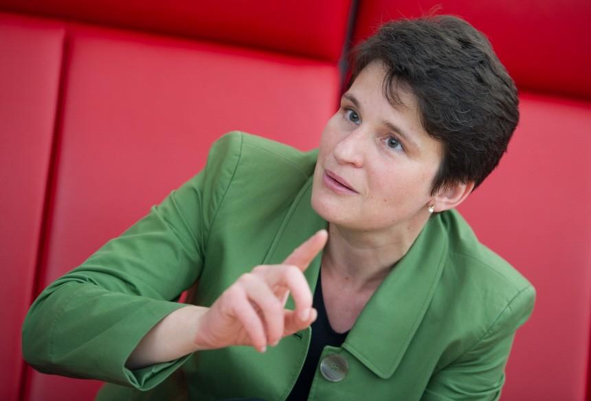 Umwelt- und Verkehrsministerin Tanja Gönner