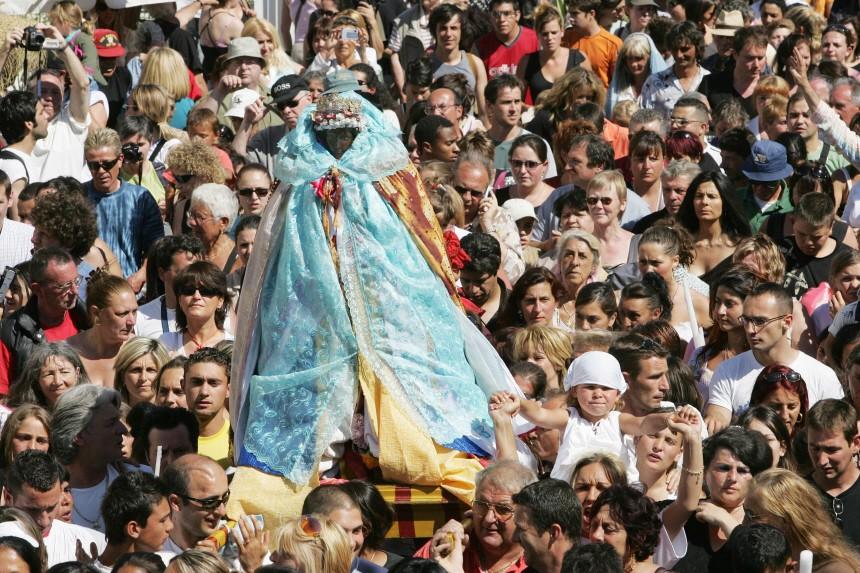 RELIGION-FÊTE-PELERINAGE-GITANS