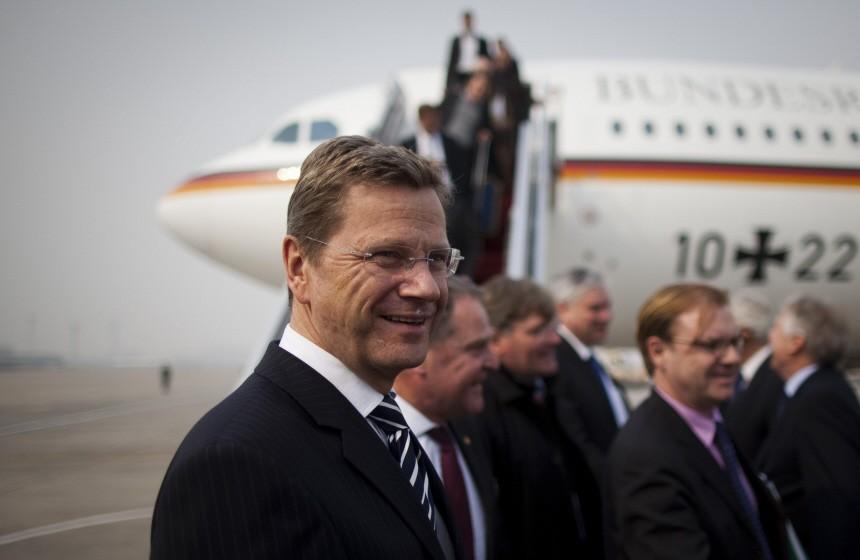 Außenminister Westerwelle besucht China