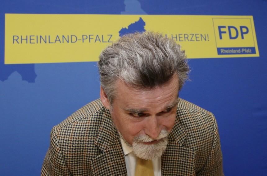 FDP-Fraktionssitzung nach der Landtagswahl in Rheinland-Pfalz