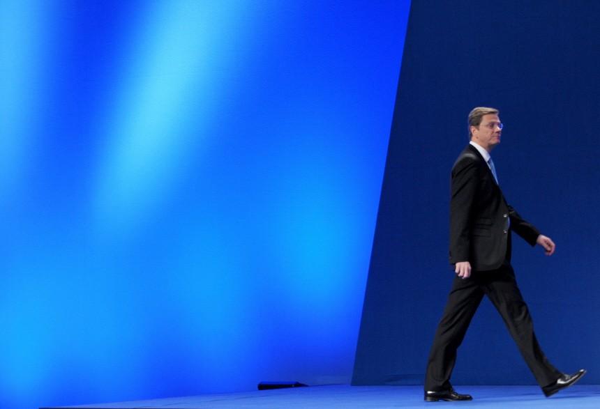 Westerwelle tritt nicht mehr für FDP-Vorsitz an