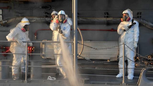 Japan kämpft weiter gegen radioaktives Leck