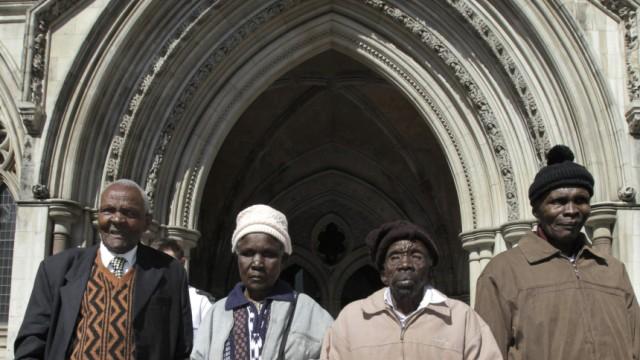 Britische Kolonialverbrechen: Vier Kenianer klagen am Londoner Royal Court of Justice: Sie seien während der Rebellion gegen das britische Kolonialregime in den 1950er Jahren schwer geschlagen und gefoltert worden.
