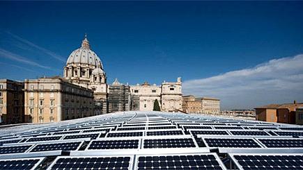 Solarenergie im Vatikan