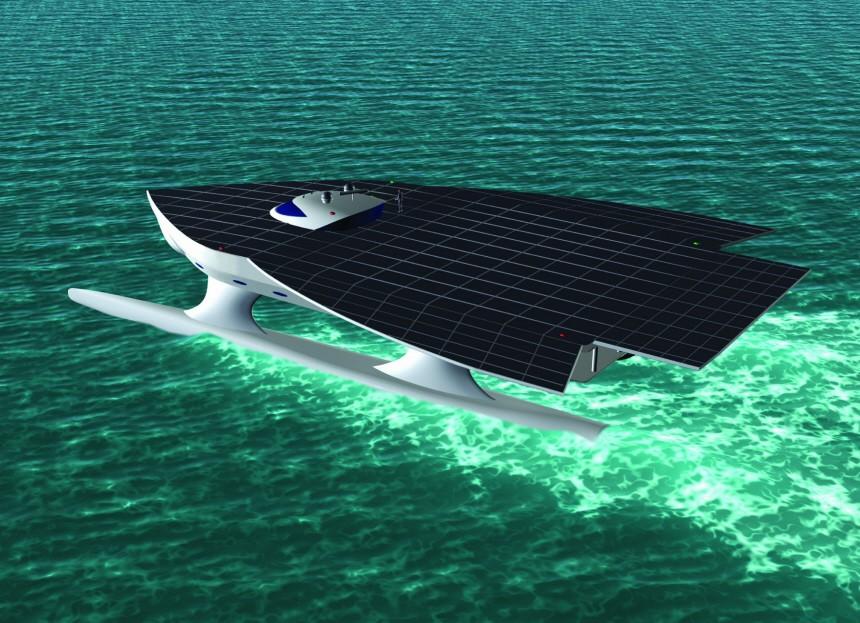 Größtes Solar-Schiff der Welt wird in Kiel gebaut