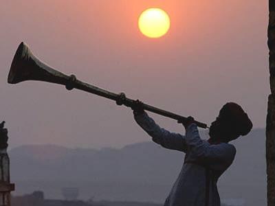 Musik in Rajasthan, AFP
