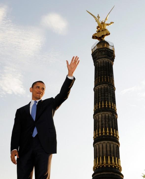 Jahresrückblick - Obama in Berlin