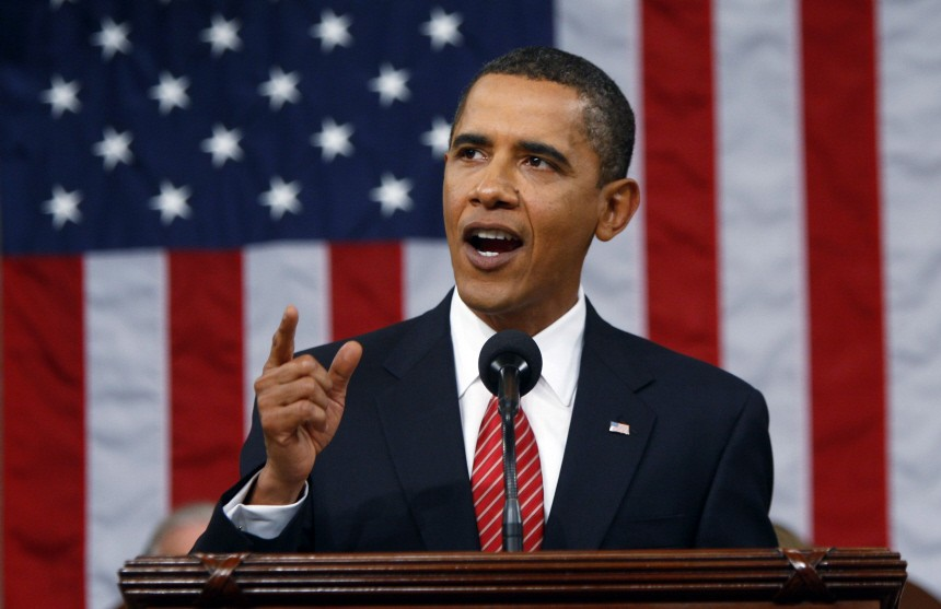 U.S. President Obama delivers a speech on healthcare before a joint session of Congress in Washington