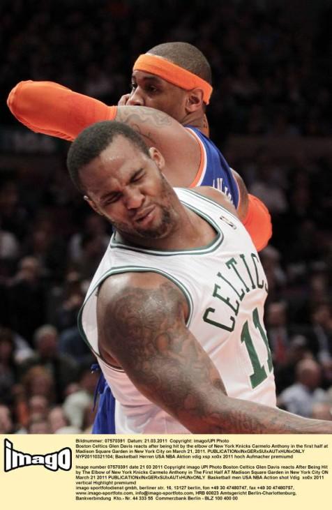 Boston Celtics gegen New York Knicks