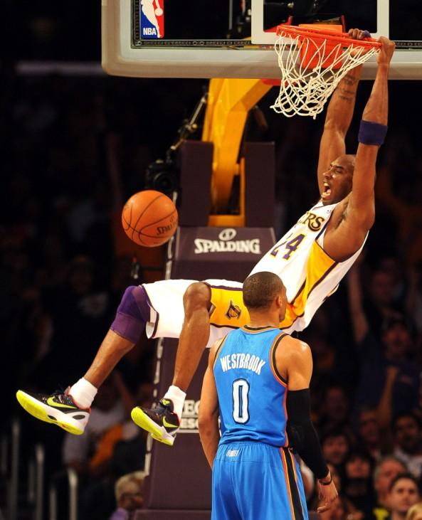 Oklahoma City Thunder at Los Angeles Lakers