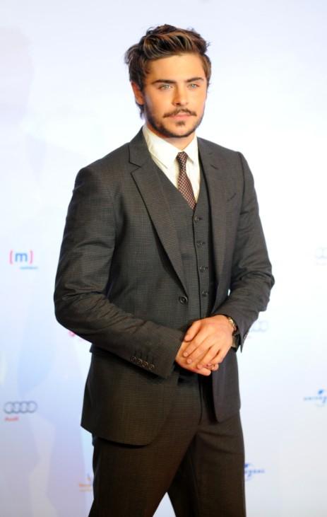 Zac Efron bei Filmpremiere in München, 2010