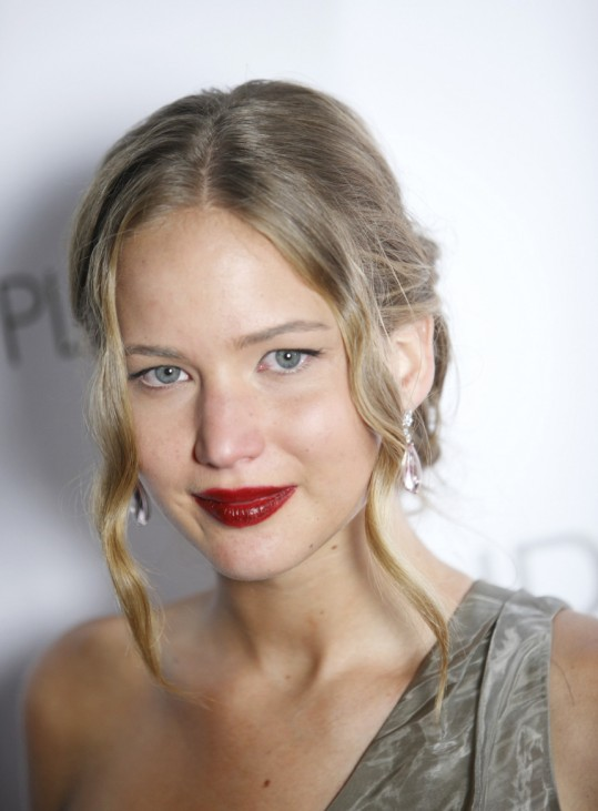 Actress and cast member Jennifer Lawrence arrives at the premiere party of the film 'The Burning Plain' in Los Angeles