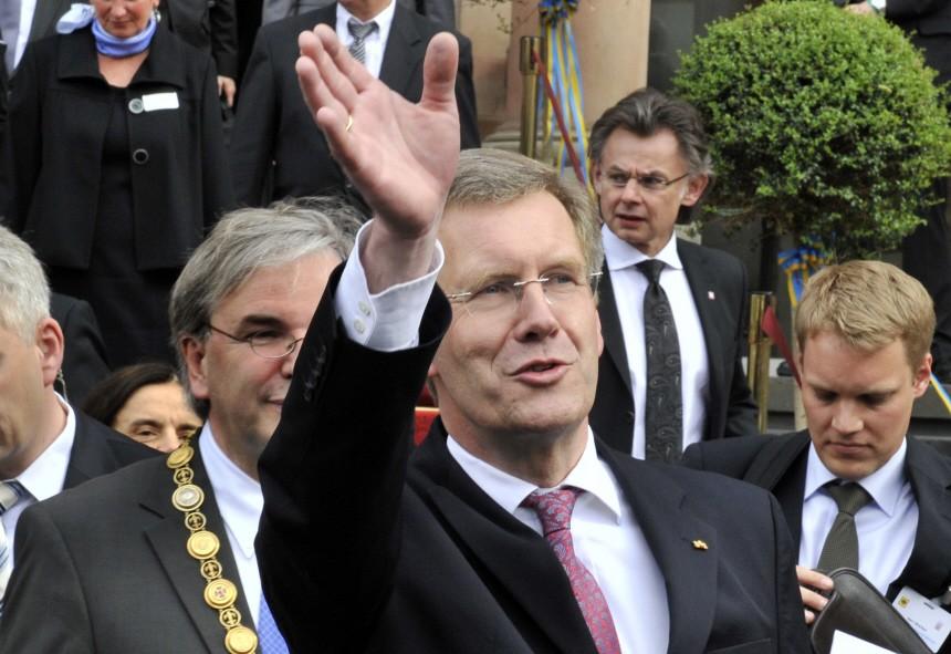 Bundespräsident Wulff besucht Hessen