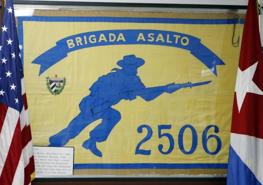 Brigade 2506 Flag