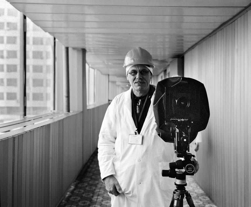 Tschernobyl-Fotograf Rüdiger Lubricht