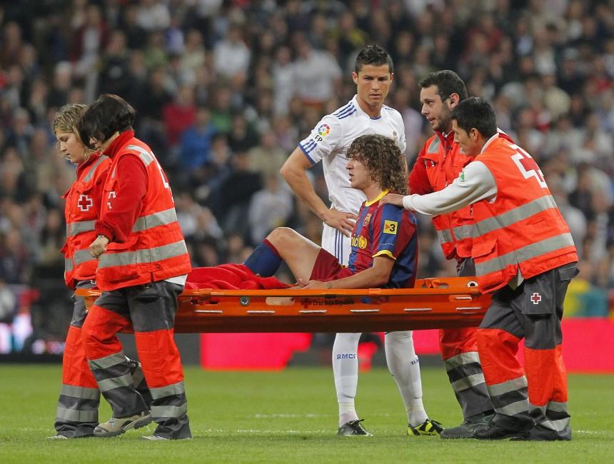 Cristiano Ronaldo, Carles Puyol