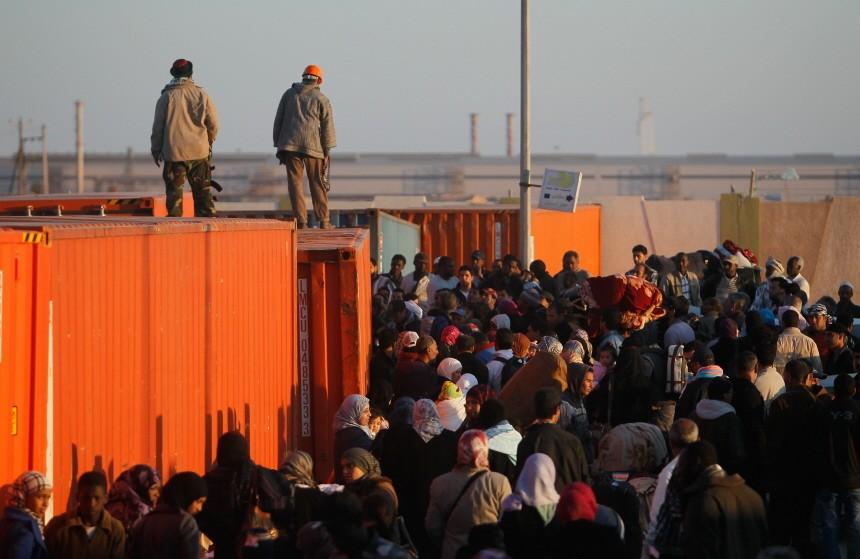 Besieged Libyan City Of Misurata Struggles Against Gaddafi's Forces