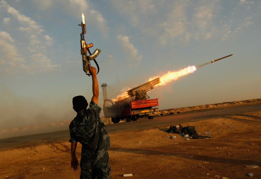 BESTPIX - Eastern Libya Continues Fight Against Gaddafi Forces