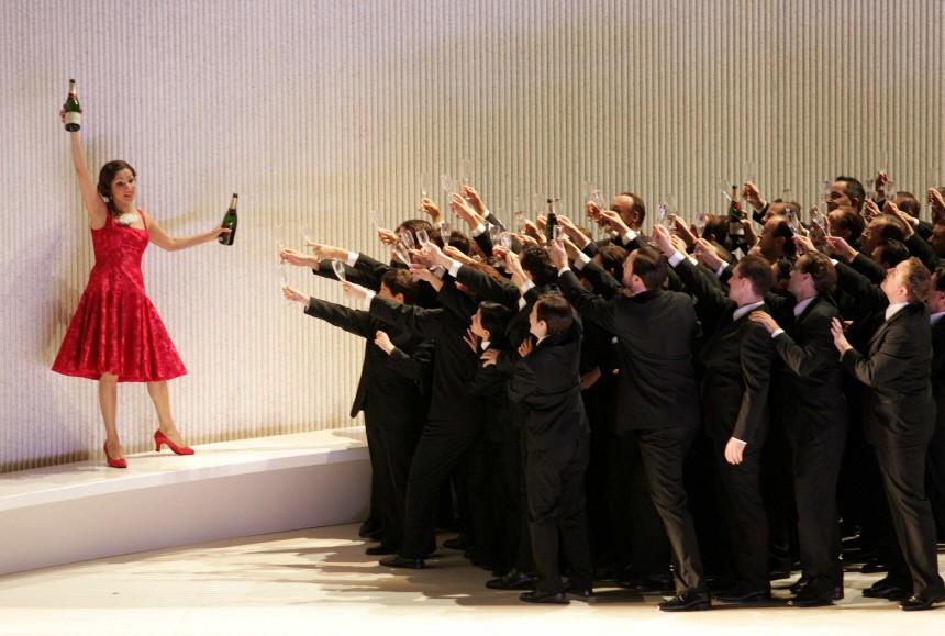 La Traviata bei den Salzburger Festspielen 2005
