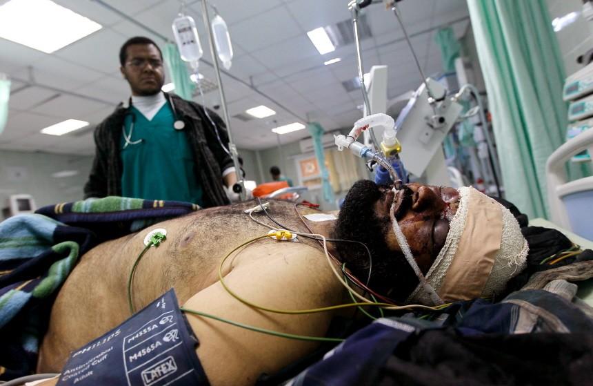BESTPIX  Eastern Libya Continues Fight Against Gaddafi Forces