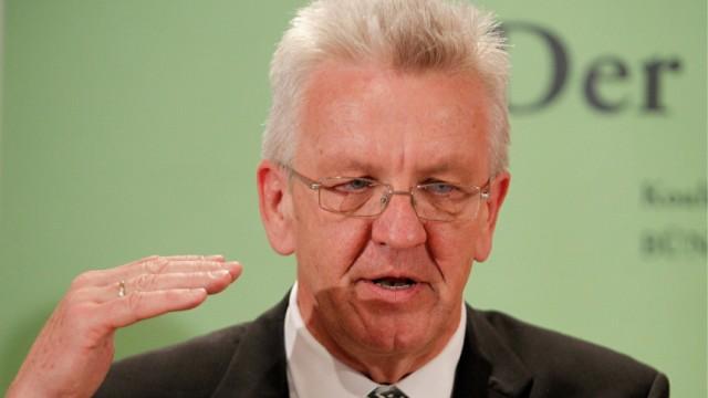 Koalitionsverhandlungen in Baden-Wuerttemberg