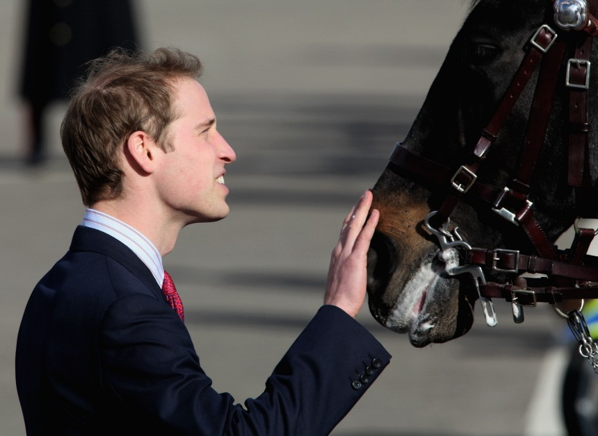 Prince William Visits Hendon Police Training College