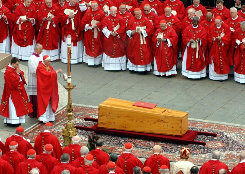 Jahresrückblick - Trauerfeier für den Papst Johannes Paul II