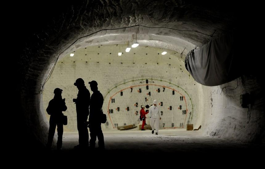 Jahresrueckblick September 2010: Erkundungsbergwerk Gorleben